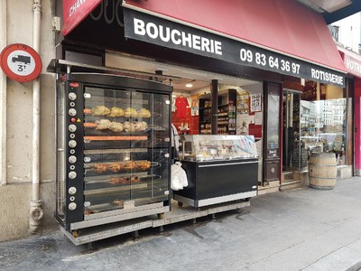 Boucherie Paris 19e