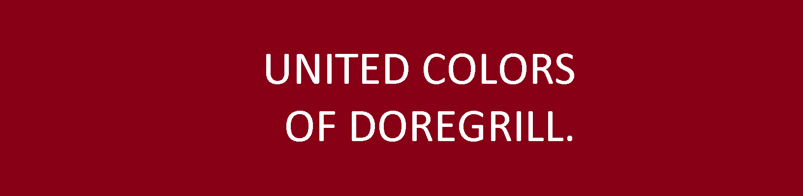 UNITED COLORS OF DOREGRILL